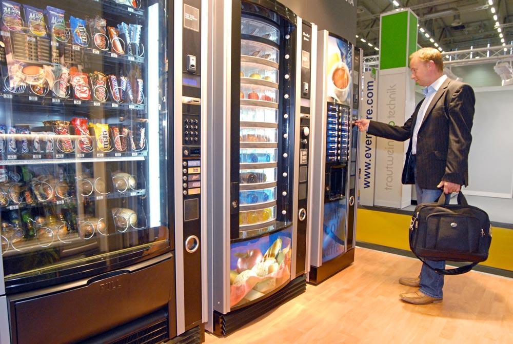 Бизнес-идея Вендинговые автоматы